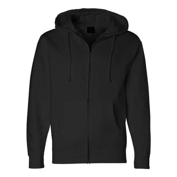 Independent Trading Co. mens Full-Zip Hooded Sweatshirt (IND4000Z)