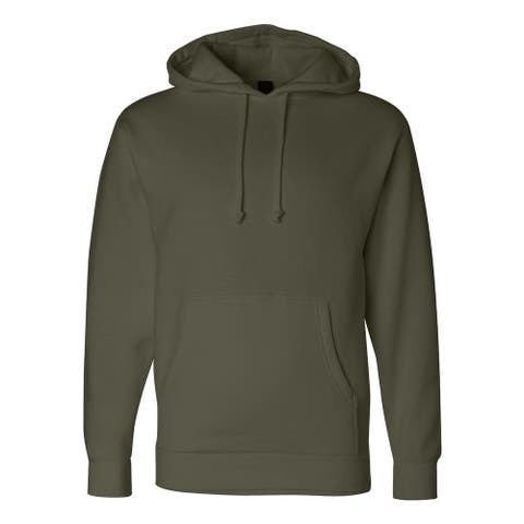 Independent Trading Co. mens Hooded Pullover Sweatshirt (IND4000)