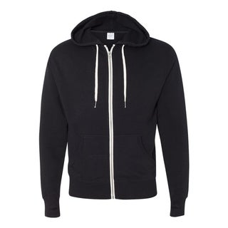 Independent Trading Co. mens French Terry Heathered Hooded Full-Zip Sweatshirt (PRM90HTZ)