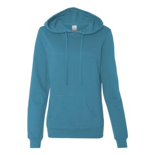 Independent Trading Co. womens Lightweight Pullover Hooded Sweatshirt (SS650)