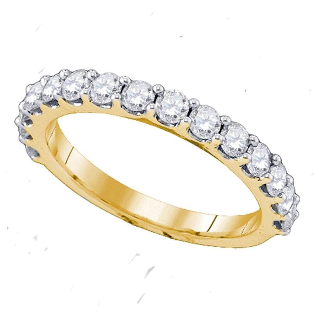 0.50 Ct Round Diamond Wedding Band Engagement Ring 14k kt White Gold Pave Set