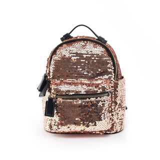 Like Dreams Sapphire Sequins Backpack