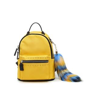 Like Dreams Dominca Nylon Backpack (Option: Yellow)
