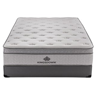 Kingsdown Mezzo Plush 14.5-inch Full XL Luxury Euro Top Mattress