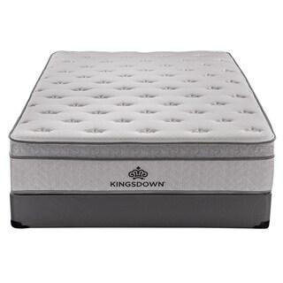 Kingsdown Mezzo Plush 14.5-inch King Luxury Euro Top Mattress