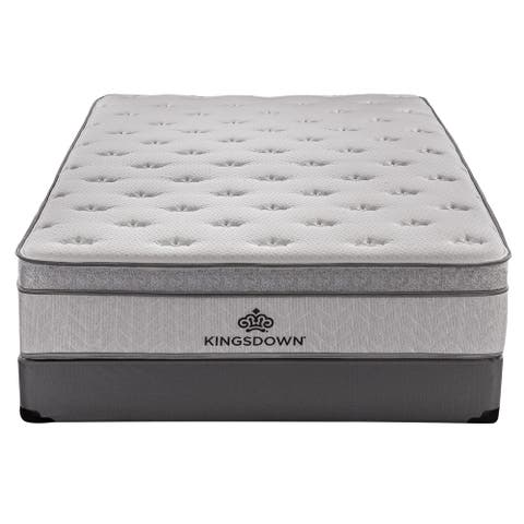 Kingsdown Mezzo 14.5-inch Plush Luxury Euro Top Mattress
