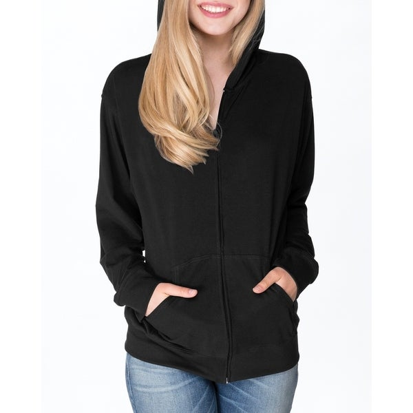 Next Level womens Sueded Full-Zip Hoody (6491)
