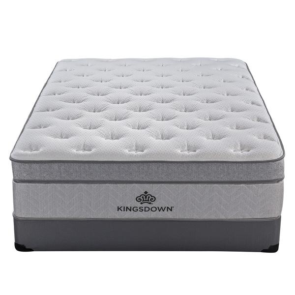 Kingsdown Mezzo 16-inch Ultra Plush Pillow Top Mattress. Opens flyout.