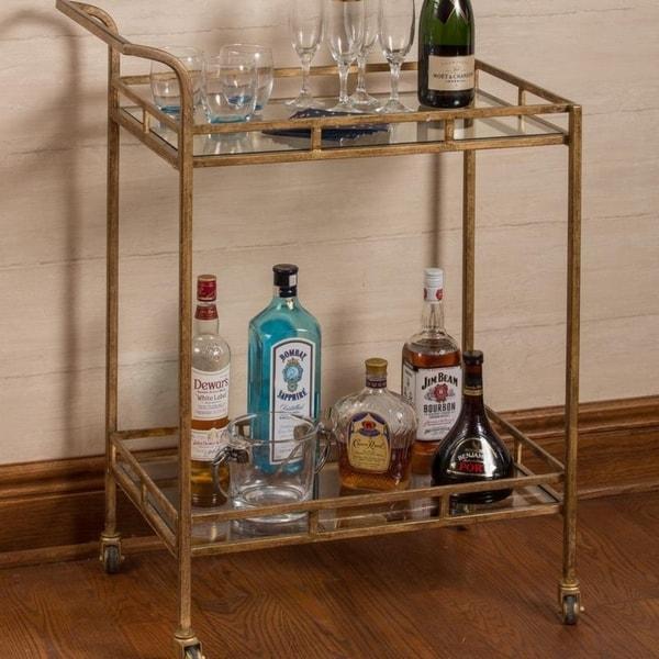 Aaron Gold Bar Cart Cooper Clics