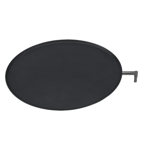 Mercatus Barbeque and Fireplace Steak/Pizza Pan
