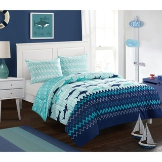 Sea Shark Comforter Set