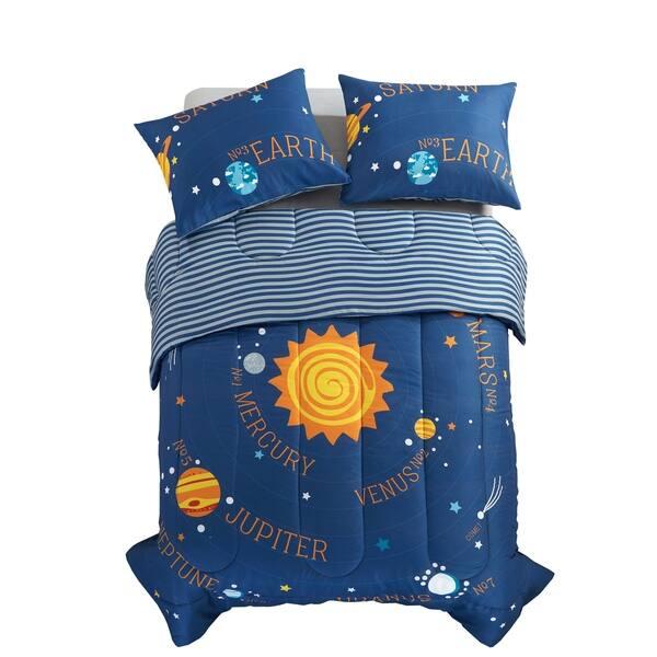 Solar System Comforter Set Overstock 22528936