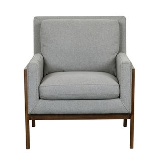 Heather Wood-frame Accent Chair