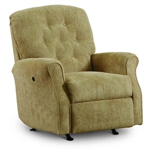 Simmons Casegoods Priscilla Golden Tan Rocker Recliner