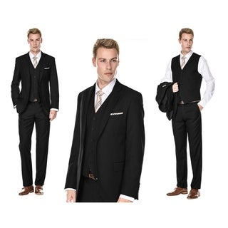 Braveman Men's Classic Fit 3PC Suits