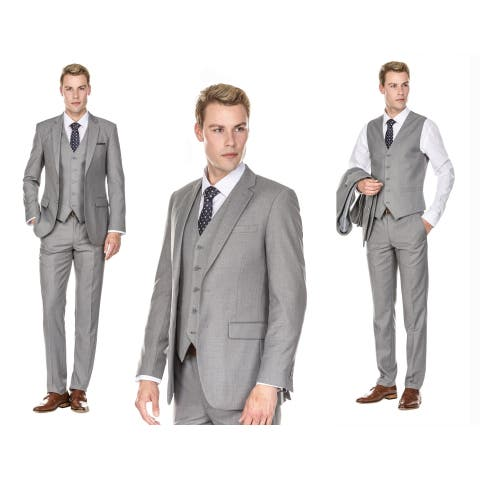 Braveman Men's Slim Fit 3PC Suits