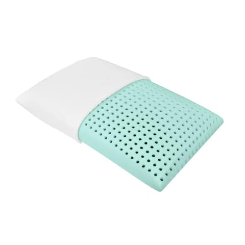 Bio Aloe Water Expanded Italian Memory Foam Pillow Blu Sleep Products