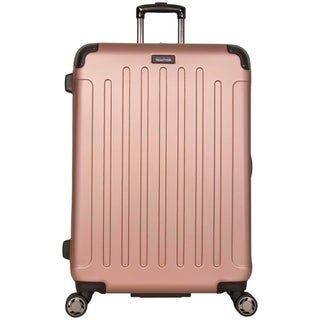 Kenneth Cole Reaction 'Renegade' 28in Lightweight Hardside ABS Expandable 8-Wheel Spinner Checked Suitcase With Corner Guards