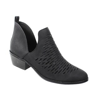 Yoki-Katty-32 Women's Ankle Booties