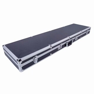 Aluminum New Framed Locking Gun Pistol HandGun Lock Box Hard Storage Carry Case Black