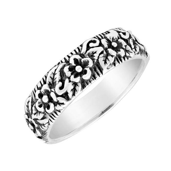Sterling Silver Inspired Trinity Ring