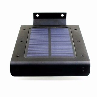 Solar Power 32-LED Super Bright Waterproof LED Security Light Courtyard Corridor Lamp Black
