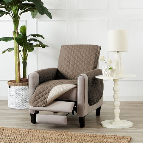 Buy Tan Recliner Covers Amp Wing Chair Slipcovers Online At