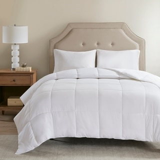 Sleep Philosophy 300 Thread Count White Cover Tencel® Filled Down Alternative Comforter Antimicrobial BI-OME Odor Eliminator