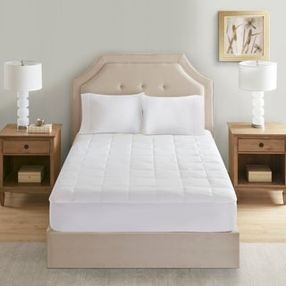 Link to Sleep Philosophy 300 Thread Count White Tencel Filled Mattress Pad Similar Items in Mattress Pads & Toppers