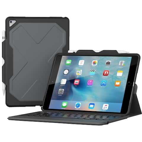 "ZAGG Rugged Messenger Keyboard/Cover Case (Folio) for 10.5"" iPad Pro - Black"