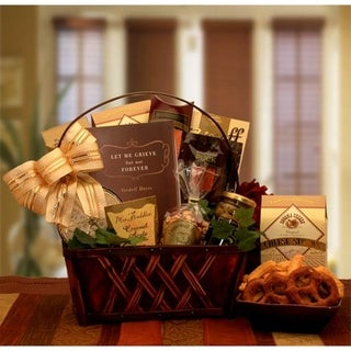 Link to Gift Basket Dropshipping A Time to Grieve Sympathy Gift Basket Similar Items in Gourmet Food Baskets