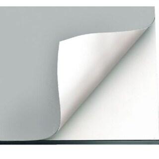 "Alvin VYCO Gray/White Vinyl Board Cover - 43 1/2"" x 84"" Sheet"