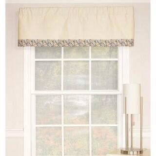 RLF Home Petite Banded Window Valance - Multi