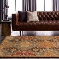 Hand-Tufted Mauldin Transitional Wool Area Rug - 9' x 12'