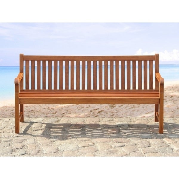 Shop Outdoor Bench Wooden Bench 180 Cm Toscana Free Shipping