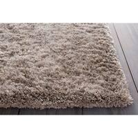 Hand-woven Lovington Brown Super Soft Shag Area Rug - 9' x 12'