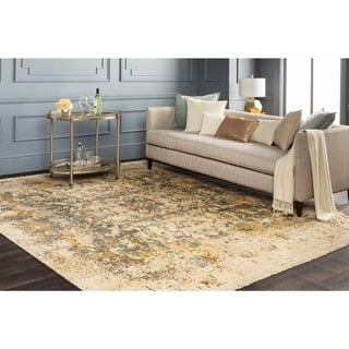 Hand-Knotted Capricia Silk Area Rug - 9' x 13'