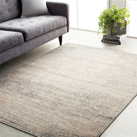 Carbon Loft Baekeland Faded Abstract Area Rug