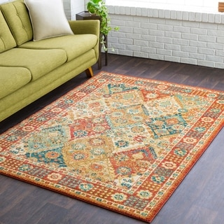 Avery Traditional Multicolor Accent Rug - 2' x 3'