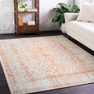 """Woven Anglley Orange Accent Rug - 2'2"""" x 3'"""