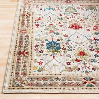 "William Ivory Rustic Vintage Runner - 2'6"" x 7'10"" Runner"
