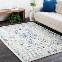 """Traditional Colonial Vintage Cream Multi Runner - 2'7"""" x 7'3"""""""
