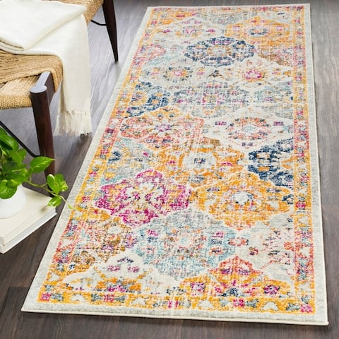 Gracie Bohemian Patchwork Area Rug