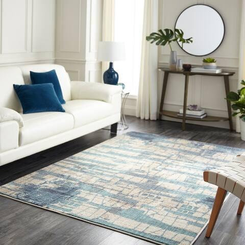 "Mohawk Home Studio Flagstone Area Rug (6'6 x 9') - 6'6"" x 9'"