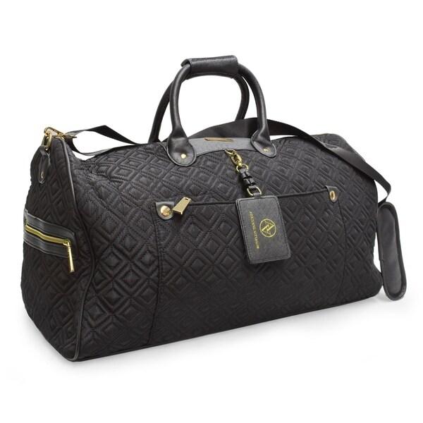 Shop Adrienne Vittadini Diamond Quilted Black 22 Inch