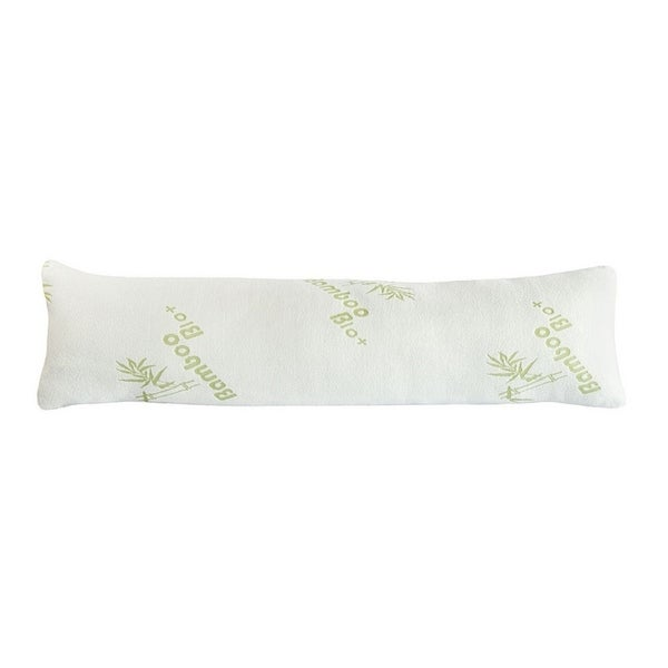 Body Pillow with Shredded Cooling Memory Foam