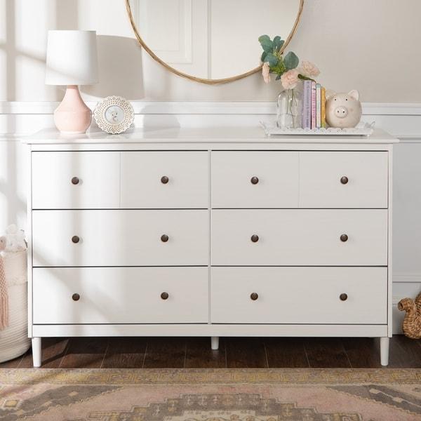 Shop Taylor Olive Elbow 6 Drawer Solid Wood Dresser On Sale