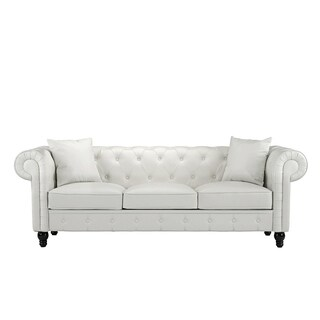 Chesterfield Sofa in Bonded Leather