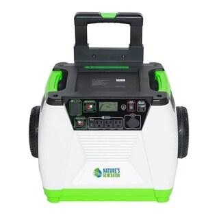 Nature's Generator - 1800W Solar and Wind Powered Generator
