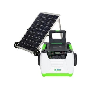 Nature's Generator - 1800W Solar and Wind Powered Generator - Gold System